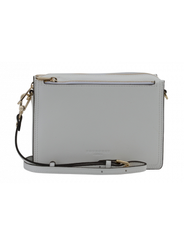 Alesia | White small flap bag