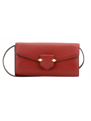 Club | Red continental wallet