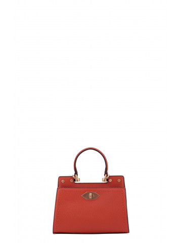 Trianon | Red large bowler bag