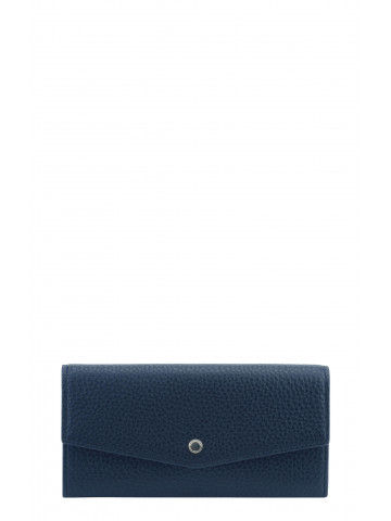 Club | Navy continental wallet