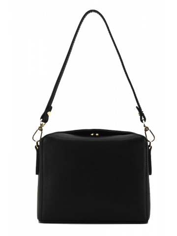 Cassetta | Black crossbody bag