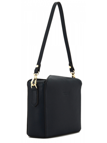 Cassetta | Navy crossbody bag