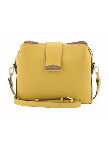 Cavalcade | Yellow bowler bag