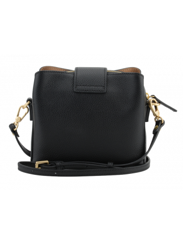 Cavalcade | Black flap bag